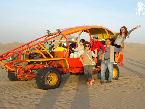 2 D/1n + Huacachina+Tour de Tubulares+Sandboarding para 2